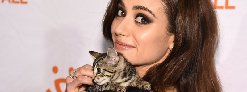 Press: Justin Theroux, Emmy Rossum Rally for Rescue Animals at NYC Benefit